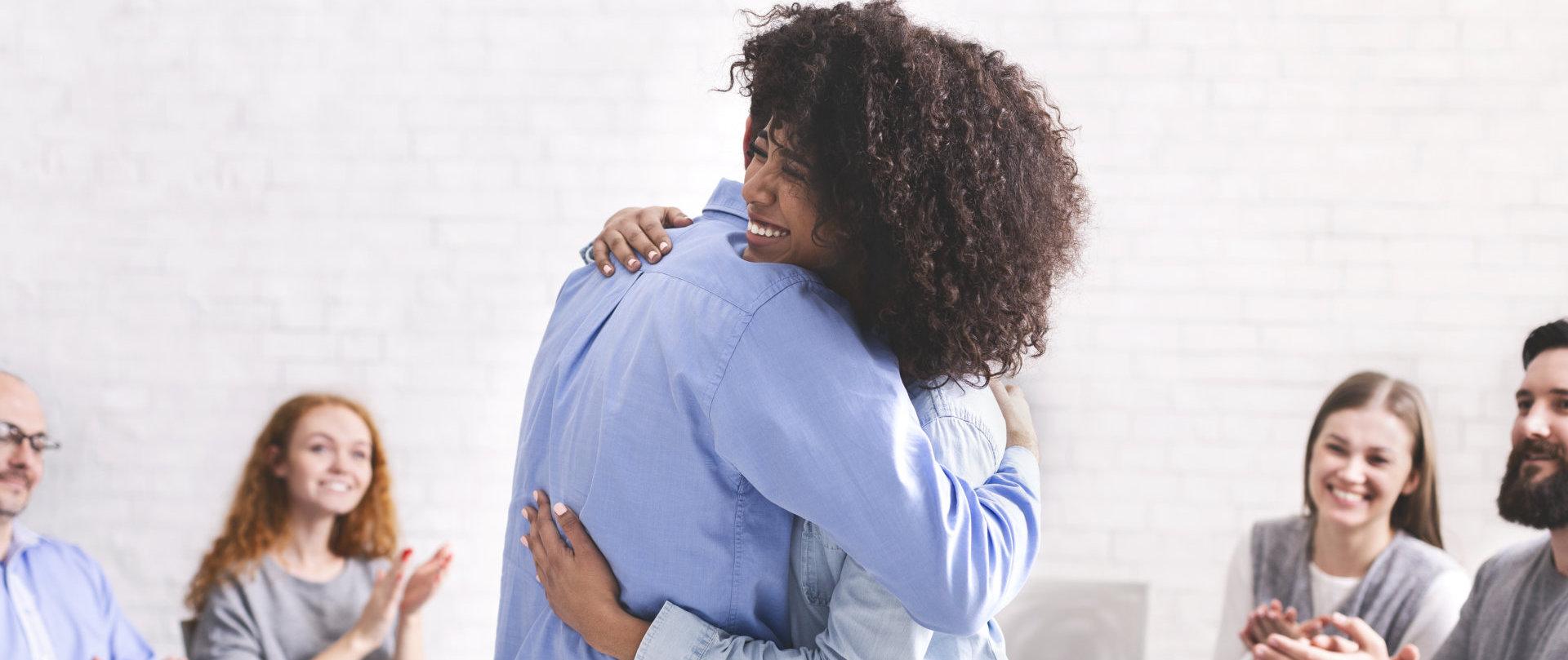people hugs